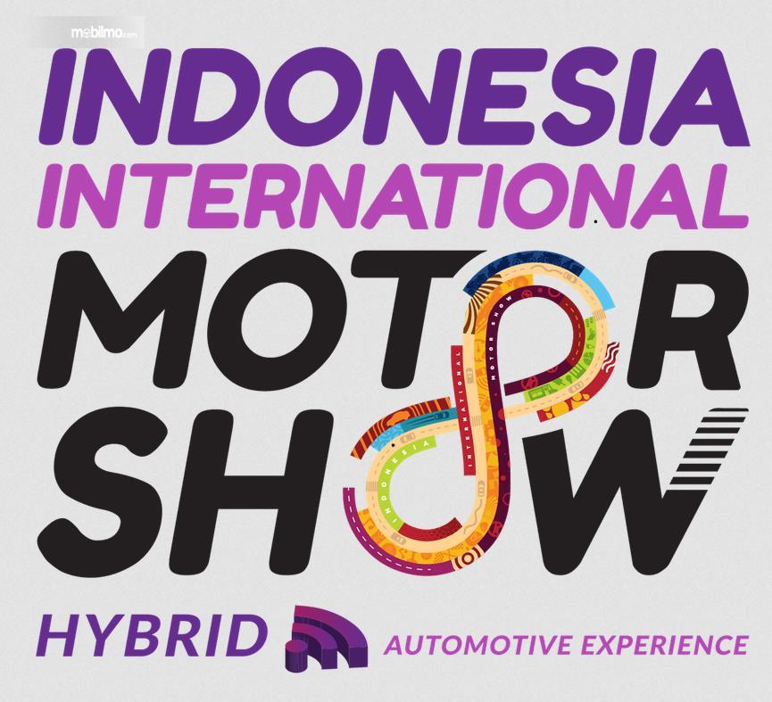 Gambar ini menunjukkan brosur IIMS Hybrid 2021