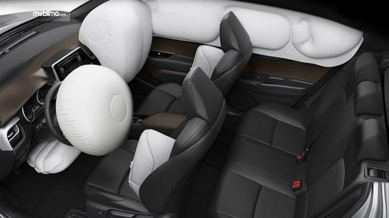Gambar ini menunjukkan interior Toyota C-HR