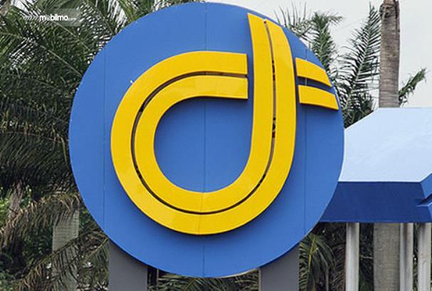 Gambar ini menunjukkan logo Jasa Marga