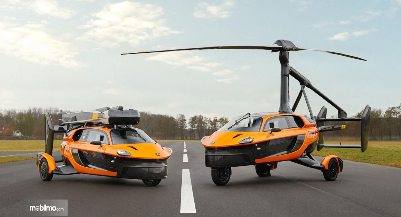 Foto menunjukkan Mobil terbang Pal V