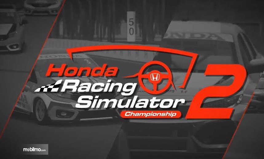 Gambar ini menunjukkan Honda Racing Simulator 2
