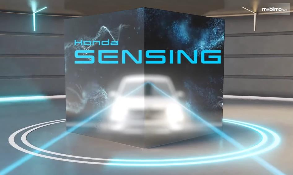 Gambar ini menunjukkan informasi fitur saat peluncuran Honda BR-V generasi kedua