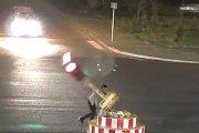 Kesal Tak Kunjung Hijau, Pria di Cina Rusak Trafic Light