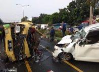 Wah, Truk Sumbang 65 Persen Kecelakaan di Jalan Tol