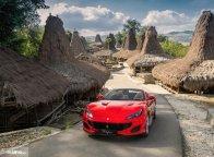 Jalan-Jalan Ke Pulan Sumba, Ferrari Portofino Jadi Objek Fotografi Eksotis