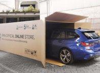 Unik, Membeli Mobil BMW Secara Online Pengiriman Dengan Kardus Besar Dan Tebal