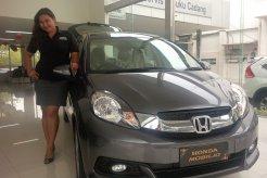 Penjualan Mobil Honda  Mobilio dan Brio Satya Meningkat Menjelang Ramadhan