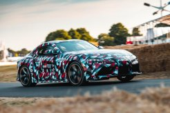 Debut Toyota Supra A90 2018 di Goodwood Festival of Speed