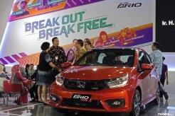 "Usung Tema ""Accelerating Innovation"" di GIIAS Makassar 2018, Booth Honda Pajang 8 Unit Mobil"