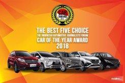 Inilah Lima Mobil Pilihan Para Wartawan Otomotif Indonesia