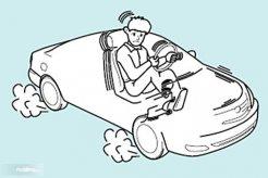 Mengetahui Penyebab Bodi Mobil Bergetar Saat Di Rem
