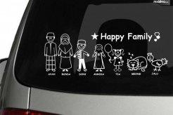 Hati-hati, Stiker My Family Pada Mobil Bisa Dimanfaatkan Penjahat