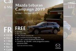 Jamin Kenyamanan Pemudik, EMI Gelar Mazda Lebaran Campaign 2019