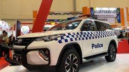 Keren, Polisi Bahrain Pakai Toyota Fortuner Asal Indonesia Buat Jadi Mobil Patroli