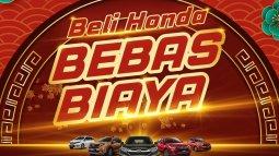 Program Penjualan Awal Tahun, Honda Bebaskan Biaya Bensin Senilai Rp 6 Juta