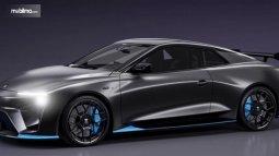 Mobil Sedan Sport Nathalie, Kendaraan Listrik Tanpa Baterai Diklaim Paling Cepat