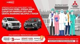 Program Apresiasi Pahlawan Medis Dari Mitsubishi Untuk Tenaga Medis Di Indonesia