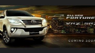 Toyota All New Fortuner 2016 Mulai Tayang di Situs Resmi Toyota