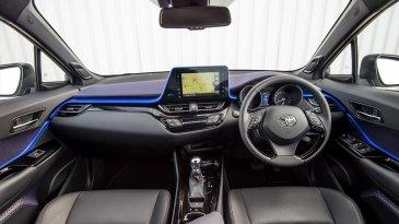 Penampakan Desain Toyota C-HR Yang Dipamerkan Di GIIAS 2017 Lalu