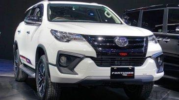 Toyota Fortuner Dan Rush Tampil Dengan Wajah Baru Di Ajang GIIAS 2017