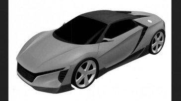 Gambar Paten Mobil Sport Honda Terbaru Sudah Bocor