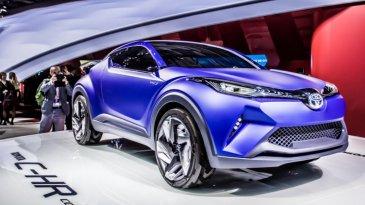 Toyota C-HR Concept – Mobil Keren Pesaing Honda HRV