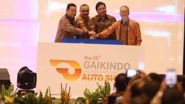 Event GIIAS 217 Resmi Dibuka Menteri Perindustrian, Airlangga Hartarto