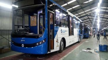 Lebih Dari Separo Jualan Bus Merek Hino Jadi Armada TransJakarta