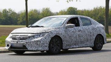 Honda Civic Hatchback Tertangkap Sedang Uji Jalan