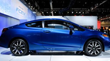 Wajah Sang Legendaris Honda Civic Terbaru 2016 Varian 2 Pintu