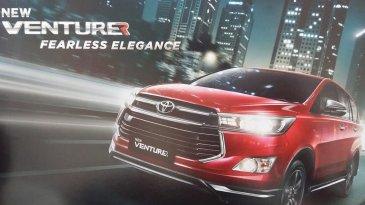 Lama Ditunggu, Toyota Innova New Venturer Resmi Diluncurkan