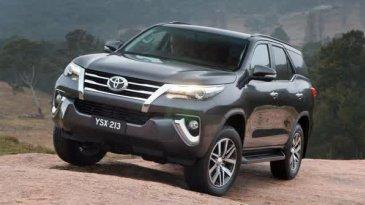 kisaran Harga Toyota Fortuner 2016