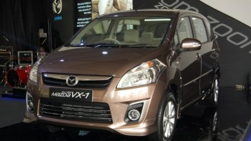 Mazda VX1 Facelift Kembaran Suzuki Ertiga Sebentar Lagi Mengaspal