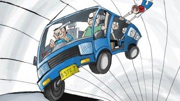 Jok Angkutan Umum Menghadap Depan, Begini Konsepnya
