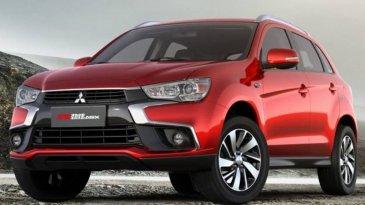 Tampang Mitsubishi outlander Sport Facelift Makin Dinamis
