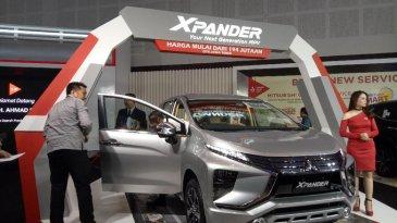 Mitsubishi Pajang Line Up Andalannya, Mitsubishi Xpander Di Ajang GIIAS Surabaya 2017