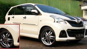 Modifikasi Toyota Avanza Veloz Keluaran 2012 Dengan Pelek Yang Nyaman