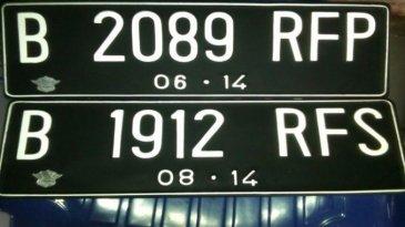 Dukung Penerapan E-Tilang, Warna Plat Nomor Kendaraan Bakal Diganti