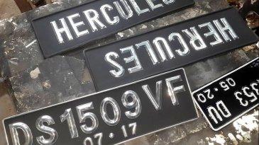 Warna Baru Plat Nomor Kendaraan Bakal Dimulai Tahun 2019
