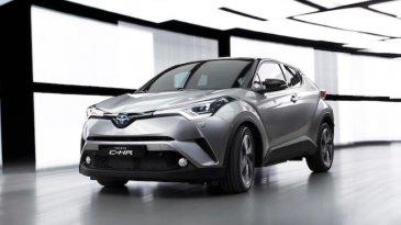 Spesifikasi Lengkap Toyota C-HR, Pesaing Honda H-RV