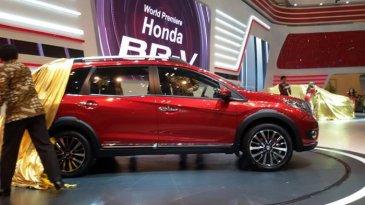 Tampilan Perdana Sang Crossover Honda BR-V