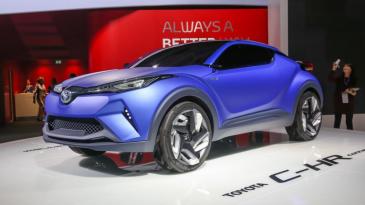 Mobil Crossover Penantang Nissan Juke dan HR-V, Toyota C-HR mulai Uji DiJalanan