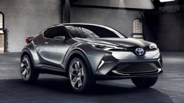 Belum Resmi Jual Toyota C-HR, Toyota Sudah Pamer Versi Produksi