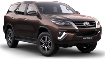 Dua Pilihan Warna Baru All New Toyota Fortuner 2016 Di Indonesia