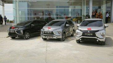 Resmikan Dealer Baru di Palangka Raya, Mitsubishi Tandai Tutup Tahun 2017