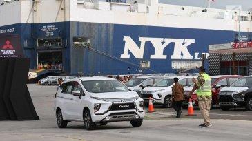 Presiden Jokowi Resmikan Ekspor Perdana Mitsubishi Xpander