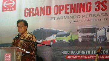 Hino Buka Dealer Baru 2018 Di Ciputat Tangerang Selatan