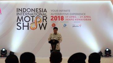 Pameran IIMS 2018 Dibuka Presiden Joko Widodo Di JIExpo Kemayoran Jakarta