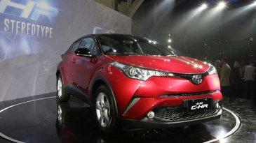 Toyota C-HR 1.800 cc Diluncurkan, Harga Sentuh Fortuner