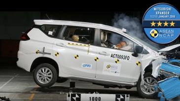 Uji Tabrak ASEAN NCAP, Xpander Dapat Bintang Empat